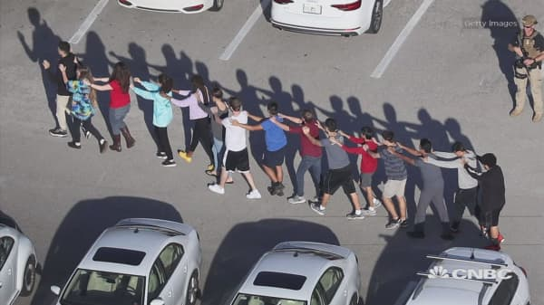 Armed officer on the Florida high school campus did nothing to stop the shooter