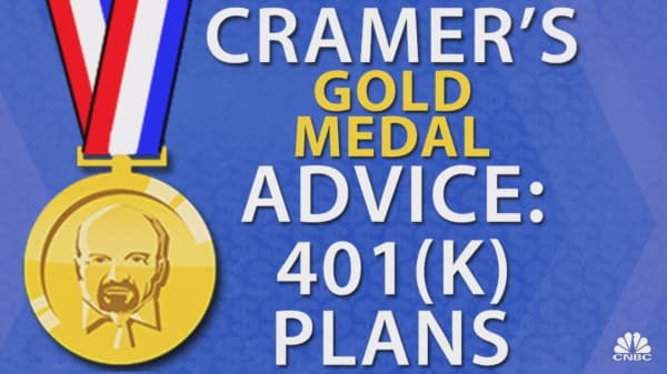 Cramer's gold medal advice: Find the perfect balance between your 401(k) and IRA