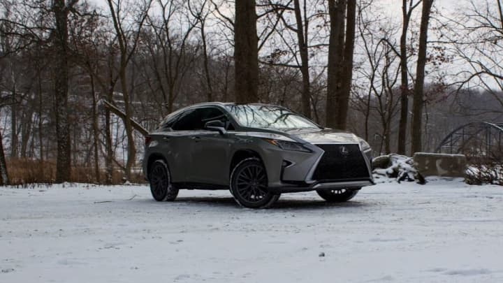 The Lexus RX 350 F Sport Looks Great Inside And Out