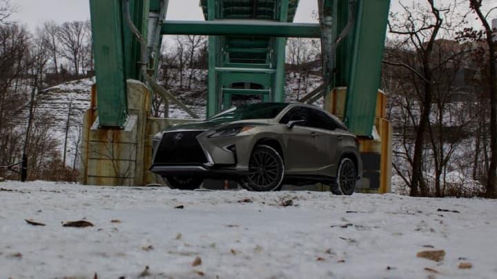 CNBC Tech: Lexus RX 350 F Sport 5