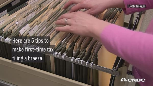 Here are five tips to make first-time tax filing a breeze