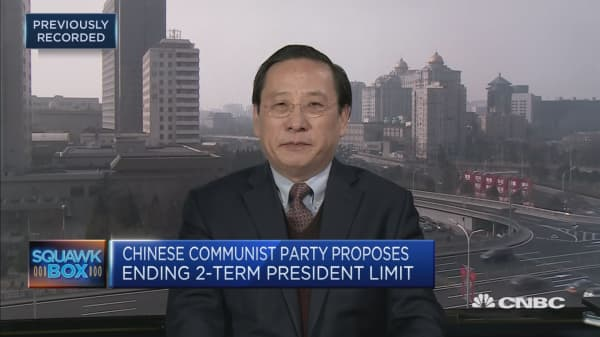 Proposed change to Chinese presidency term limits to have 'long-term implications' for the world: former English interpreter of Deng Xiaoping