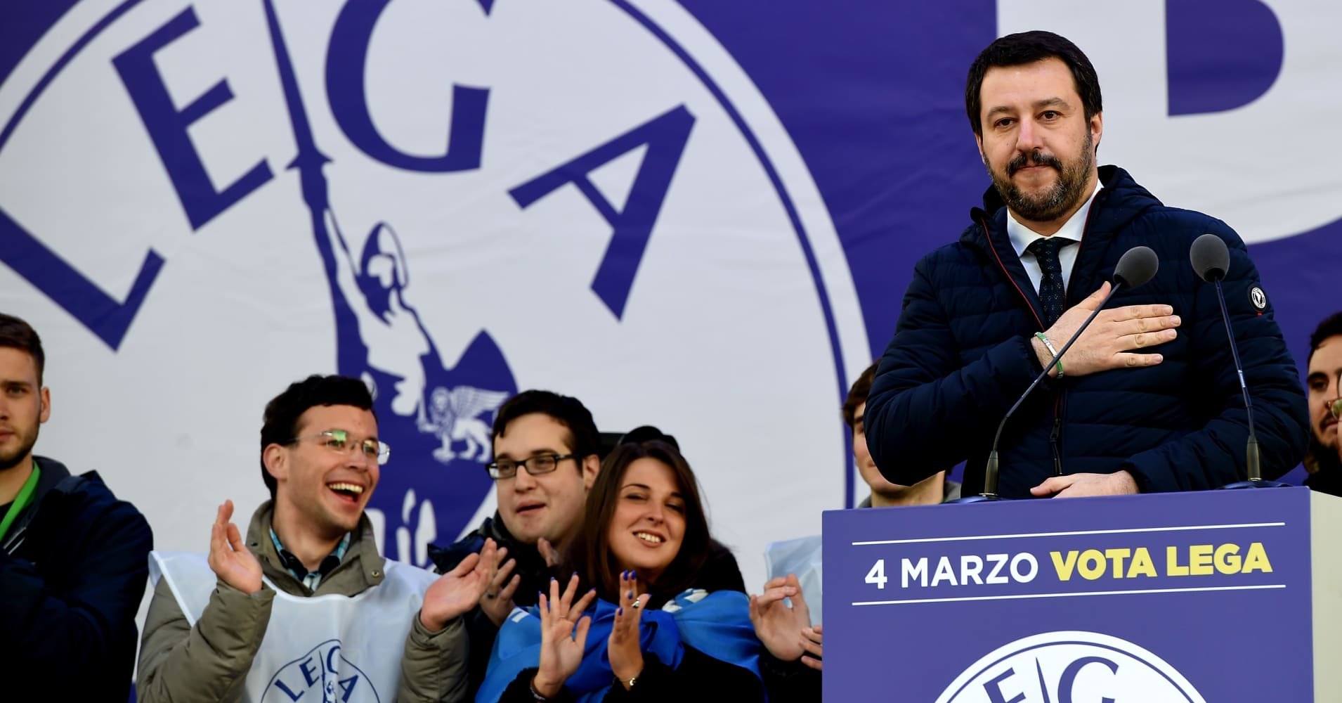 We want the 'war of words' with the EU over Italy's budget to end, Lega advisor says