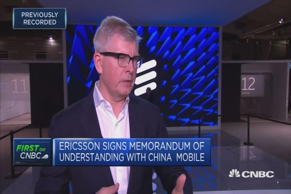 Ericsson signs memorandum of understanding with China Mobile
