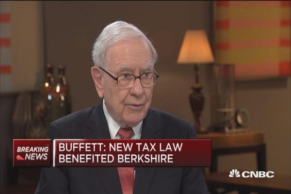 Buffett: New tax law huge tailwind for business