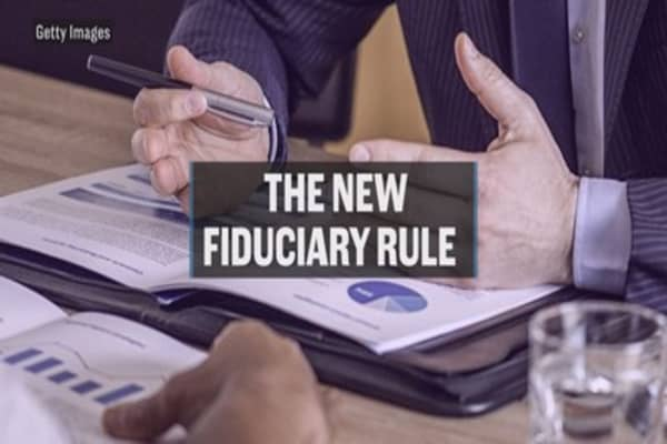 The new fiduciary rule