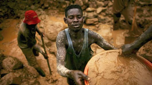 Gold and other mineral deposits, which are numerous in the volatile northeast of The Democratic Republic of Congo, have become a catalyst to much of the conflict there. Numerous militias and warlords have vied for control of the mineral-rich eastern Congo for decades, creating instability and continued bloodshed.
