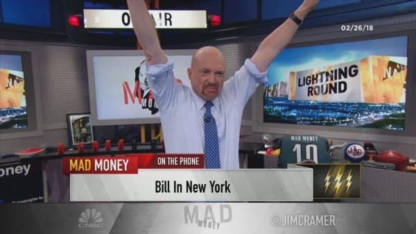 Cramer's lightning round: My biggest worry about Allergan
