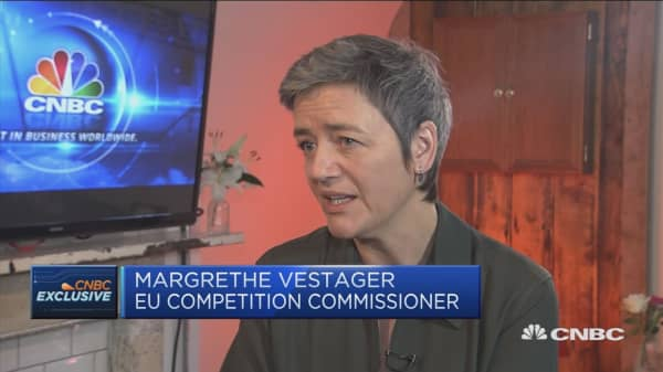 Vestager: Recovering unpaid tax will level playing field