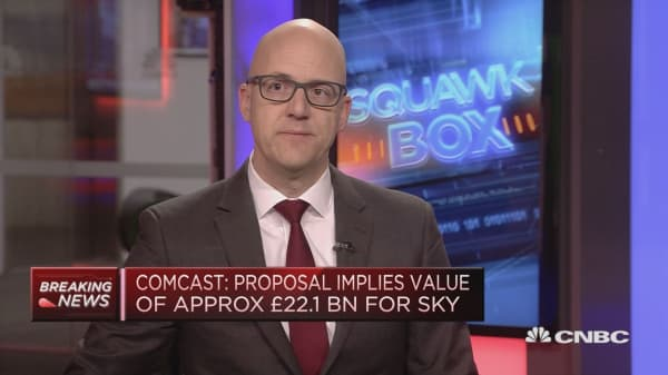 Comcast's Sky offer shows financial conditions still easy: Strategist