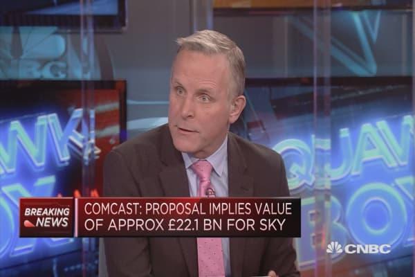 Comcast offers cash offer to buy Sky