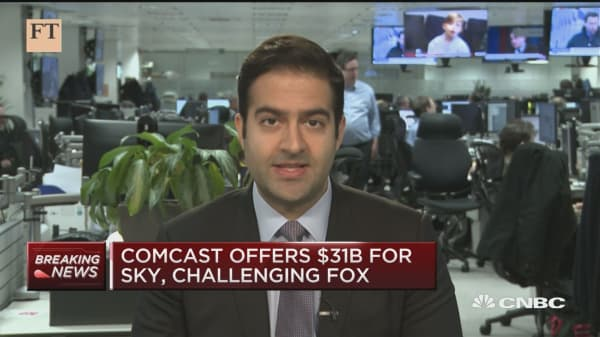 Arash Massoudi discusses Comcast's $31 billion offer for Sky