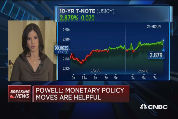 Powell: Expect further gradual rate increases