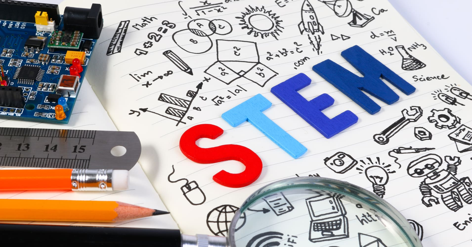 STEM education: Science, Technology, Engineering and Mathematics.