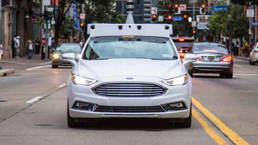 Ford Argo AI self-driving car