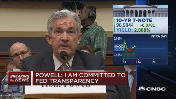 Powell: Current approach to rates is working well