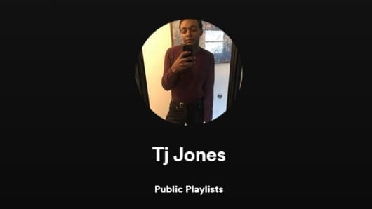 TJ Jones' Spotify profile picture