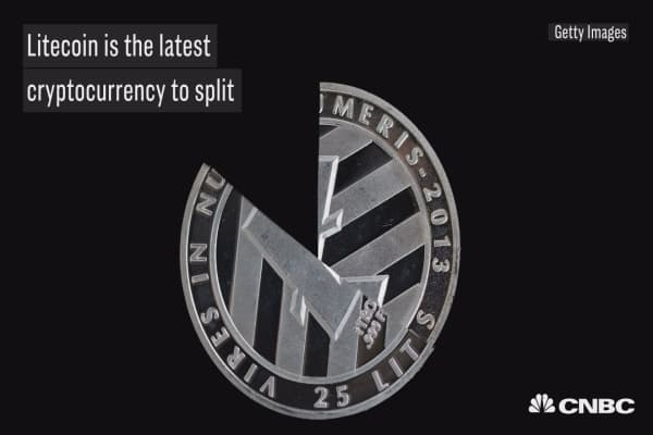Here's why litecoin is the latest cryptocurrency to split