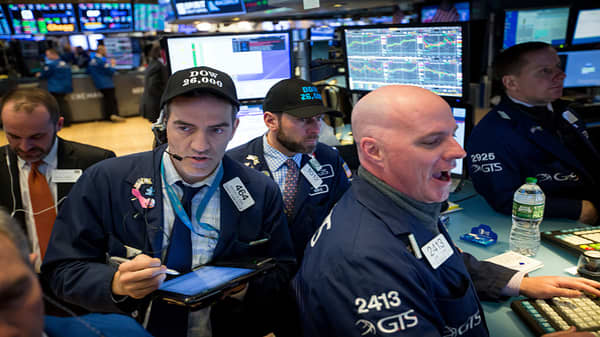 Dow down 250 points before the close