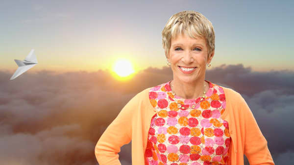 Here's why millionaire Barbara Corcoran still flies coach—and how she makes it feel like first class