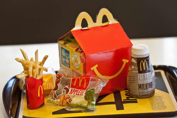 A McDonald's Happy Meal.