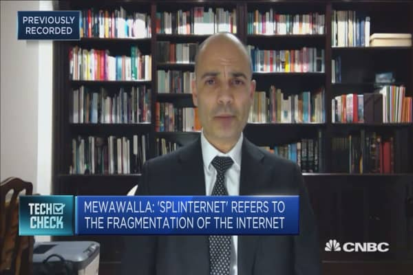 Expect accelerated formation of the 'splinternet' in 2018