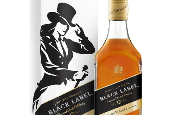 Diageo's Johnnie Walker whisky replaces striding man logo with walking woman Jane