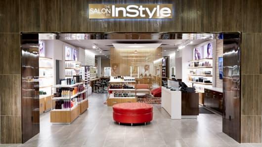 InStyle salon inside a JC Penney store.