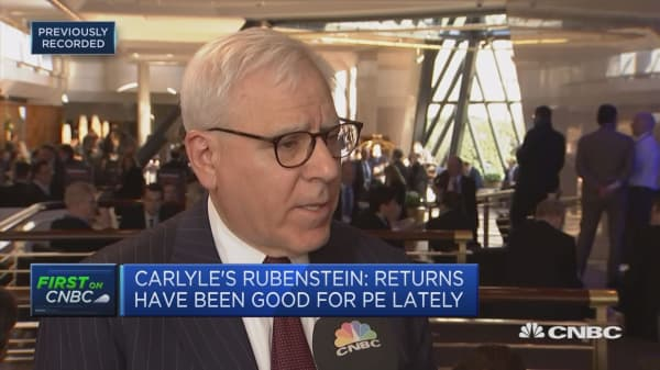 Don't see a slow down in the US economy this year or next: David Rubenstein