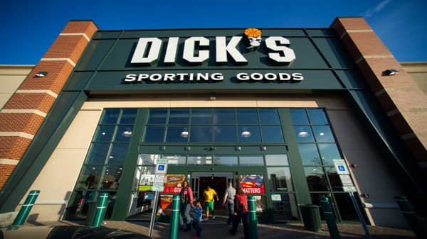 Dick's Sporting Goods halts sales of assault-style weapons