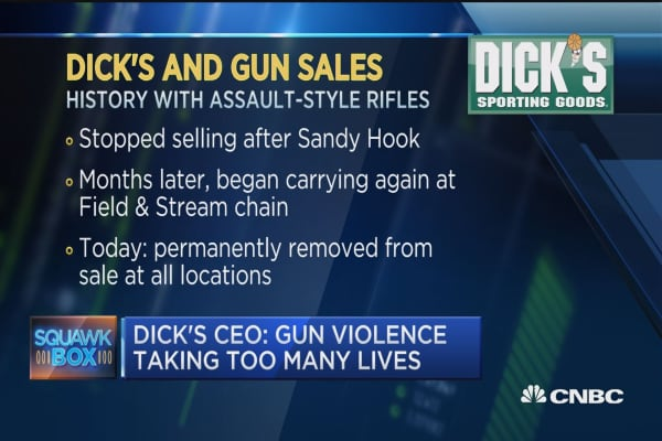 Dick's CEO: It's time to do something about gun violence