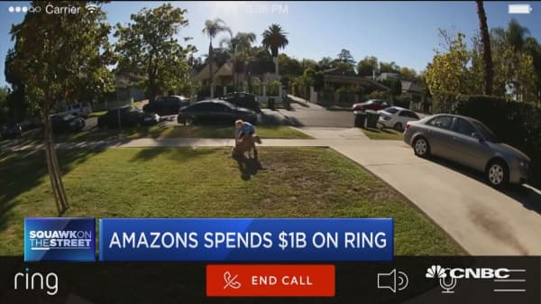 Amazon spends $1 billion on Ring