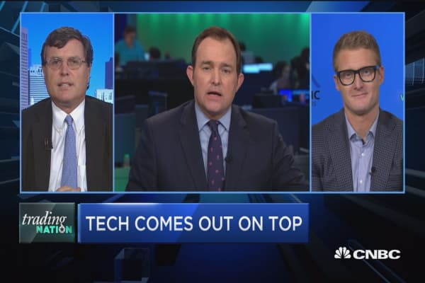 Trading Nation: Tech comes out on top