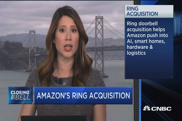 Amazon's Ring buy a further push into home security