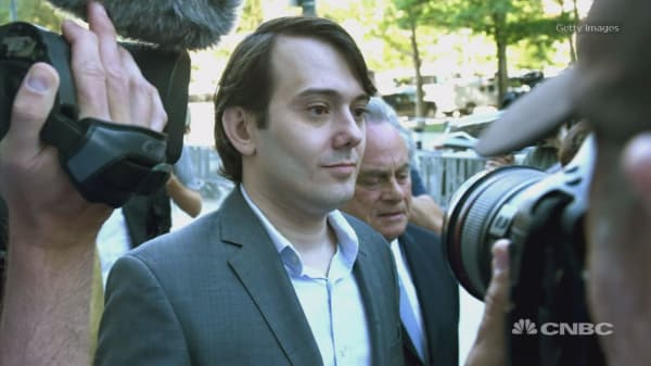 'Kind, caring, generous' Martin Shkreli wants sentence of just 12 to 18 months in prison on fraud charges