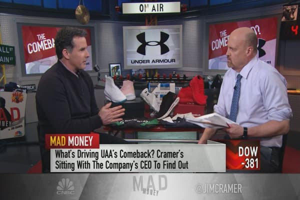 Under Armour CEO: 2018 will be one of the most important chapters in our 22-year history