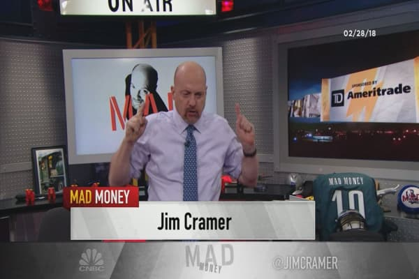 Cramer's lightning round: Nokia has become a good spec. I'm done selling