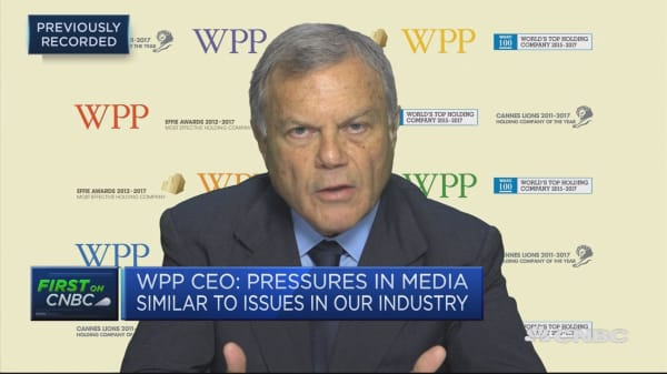 WPP's Martin Sorrell: Consolidation is 'inevitable' amid pressure from firms such as Amazon, Netflix