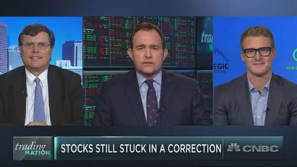 Half of the S&P is still in correction territory. Here are names to buy on the dip