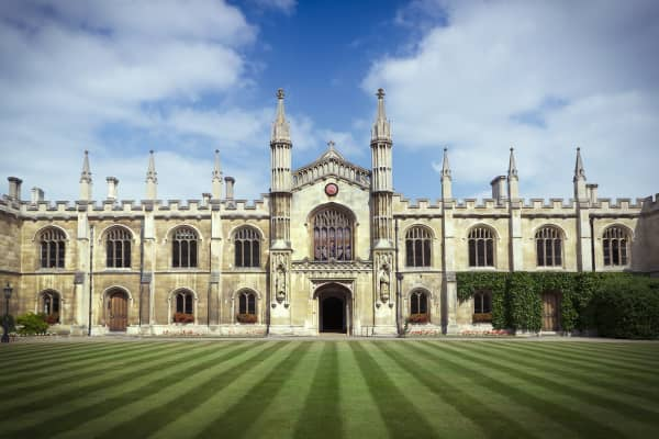 Corpus Christi College at Cambridge University