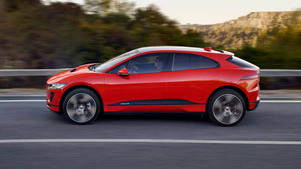 Jaguar I Pace Unveils Its First All Electric Vehicle