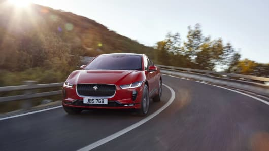 The Jaguar I-PACE is its first, all-electric vehicle.