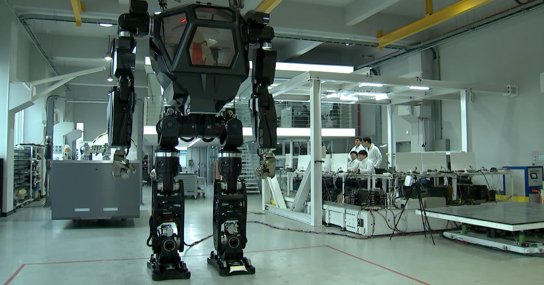 This 13-foot robot cost over $100 million to develop and looks like it's straight out of a sci-fi movie
