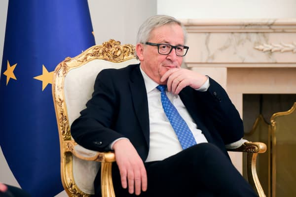 President of European Commission Jean-Claude Juncker.