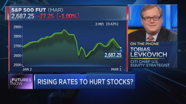 Looking a stock market rally comeback? Citi's top U.S. strategist sees it as a long shot