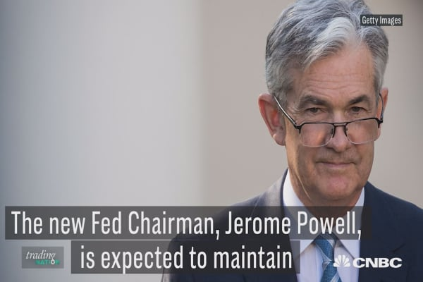 Here's how the new Fed Chairman may rattle the markets in 2018