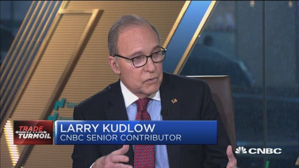 Tariffs are 'prosperity killers,' says Larry Kudlow. Here's why