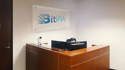 BitIRA's office in Burbank, California