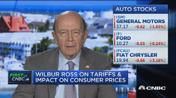 Commerce Secretary Wilbur Ross on tariffs and trade policy