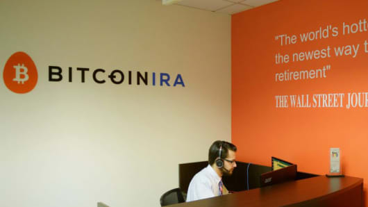 BitcoinIRA's office in Sherman Oaks, California